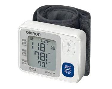 手首式血圧計の正しい測り方と注意点は?